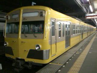 懐かしい電車