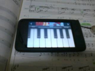 iPhoneで音とり