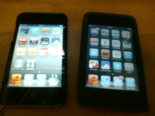 iPod touch 2つ